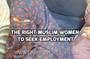 muslim women seeking employment